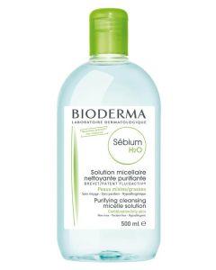 Bioderma Sébium H2O (Grøn) 500 ml
