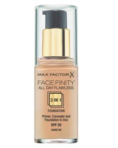 Max Factor Facefinity 3 in 1 Sand 60 - 30 ml