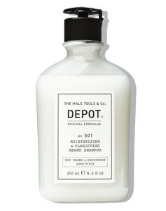 Depot No. 501 Moisturizing & Clarifying Beard Shampoo 250 ml