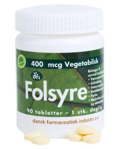 Berthelsen Naturprodukter - Folsyre 400mcg