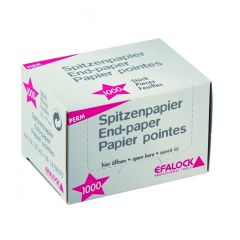 Efalock Spidspapir 1000 stk 50 x 77mm (57143)