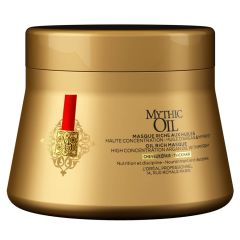Loreal Mythic Oil Masque - Tykt Hår (Rød) 200 ml