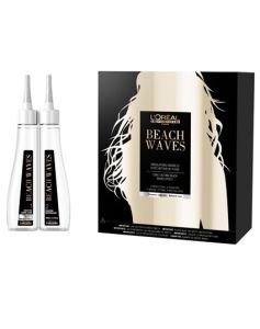 Loreal Beach Waves Natural Hair Waves Effect. 6x100ml Waving Lotion + 6x100ml Neutralizer