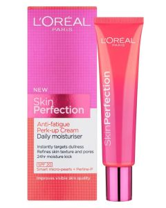 Loreal Skin Perfection Anti-Fatigue Perk-Up Cream - Daily Moisturiser 35 ml
