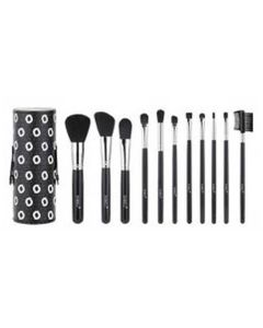 Sibel Black Swan Make-up Brushes Med Etui Ref. 0010090