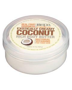 Nspa Exotically Creamy Coconut Rich Body Butter 200 ml