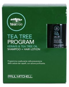 Paul Mitchell Tea Tree Program, Shp + 12x6ml Ampuller (U) 75 ml