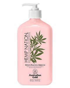 Australian Gold Hemp Nation - White Peach & Hibiscus Moisturizer Creme 535 ml