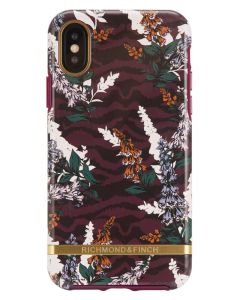 Richmond And Finch Floral Zebra iPhone Xs Max Cover