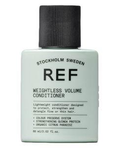 REF Weightless Volume Conditioner (Rejse Str.) 60 ml