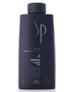 Wella SP MEN Refresh Shampoo 1000 ml