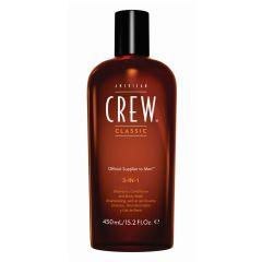American Crew 3-in-1 Shampoo 450 ml