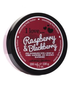 I Love Raspberry And Blackberry Body Butter 200 ml
