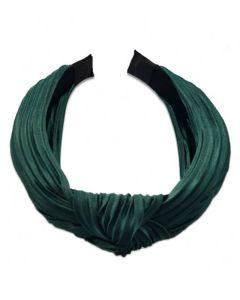Everneed hårbøjle Daniella Plissé - Emerald
