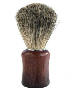 Barburys Shaving Brush - Grey Walnut