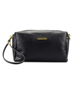 Gillian Jones SPA Natascha Black Makeup Purse Art: 10455-00
