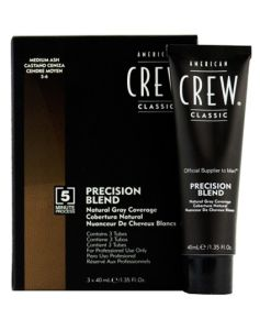 American Crew Precision Blend - Medium Ash 5-6 3x40ml