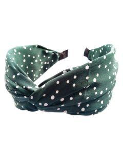 Everneed hårbøjle Kamma - Emerald dots