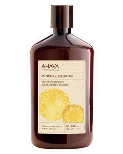 AHAVA Velvet Cream Wash - Tropical Pineapple & White Peach 500 ml