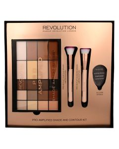 Makeup Revolution Pro Amplified Shade And Contour Kit