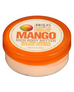 Nspa Sweet And Tropical Mango Rich Body Butter 200 ml
