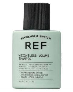 REF Weightless Volume Shampoo (Rejse Str.) 60 ml