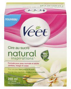 Veet Sugar Wax Natural Inspirations 250 ml