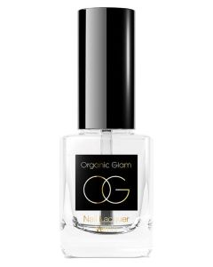 Organic Glam Top Coat Nail Polish (U) 11 ml