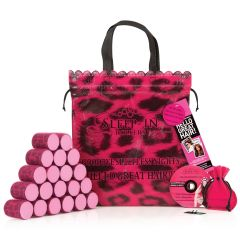 Sleep-in Rollers, Leopard Roller, Gift Set