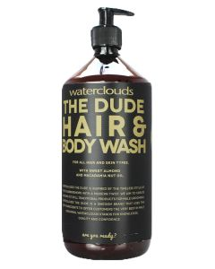 Waterclouds The Dude - Hair & Body Wash 1000 ml