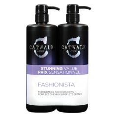 TIGI Fashionista Violet DUO Pack (Incl. Pumpe) 750 ml