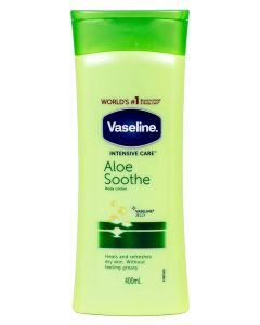 Vaseline Intensive Care Aloe Soothe (Stor) 400 ml