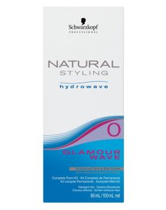 Schwarzkopf Natural Styling Hydrowave Glamour Wave 0 KIT/100ml (U) 80 ml