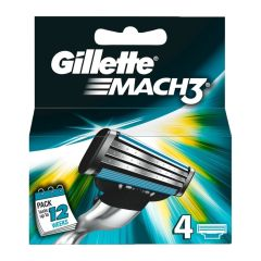 Gillette Mach3 - 4pak