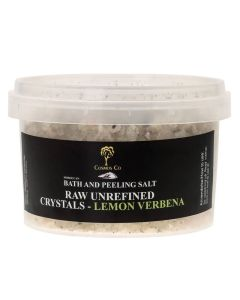 Cosmos Co Bath And Peeling Salt Raw Unrefined Crystals - Lemon Verbena (U)