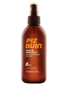Piz Buin Tan & Protect Tan Accelerating Oil Spray SPF6 150 ml
