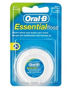 Oral B Essential floss mynte - waxed