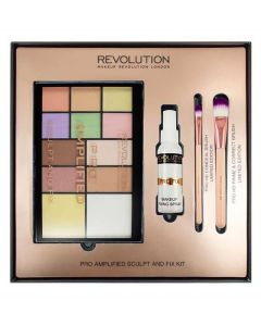 Makeup Revolution Pro Amplified Sculpt And Fix Kit