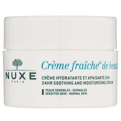 NUXE Creme Fraiche De Beaute 24Hr Soothing And Moisturising Cream 50 ml