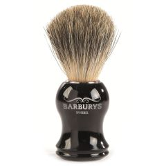 Barburys Shaving Brush - Grey Silhouette 0000606