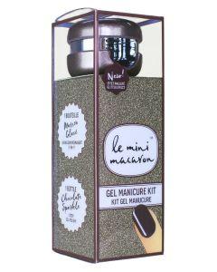Le Mini Macaron Gel Manicure Kit Chocolate Sparkle 10 ml