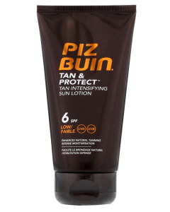 Piz Buin Tan & Protect - Tan Intensifying Sun Lotion SPF 6 150 ml