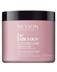 Revlon Be Fabulous Texture Care Smooth Hair Mask 500 ml