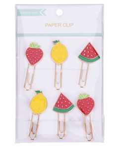 Krea Paper Clips Lemon