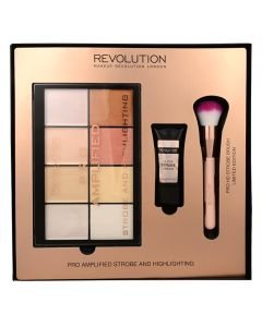 Makeup Revolution Pro Amplified Strobe And Highlighting Kit