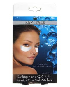 Revitale Collagen And Q10 Anti Wrinkle Eye Gel Patches - 5 sæt