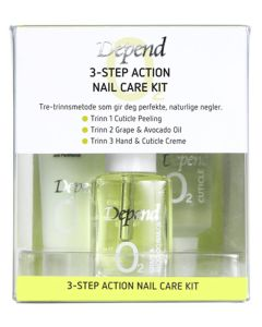 Depend 3-step Action Care Nail Kit - Art. 8941