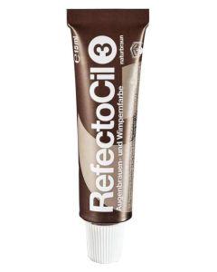 Refectocil Bryn- og vippefarve NATURBRUN 3 15 ml