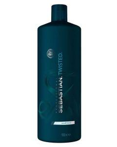 Sebastian Twisted Conditioner Elastic Detangler for Curls 1000 ml