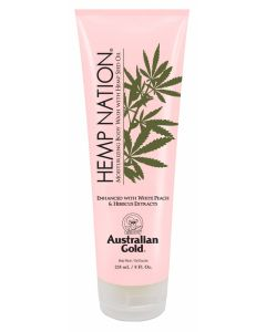 Australian Gold Hemp Nation White Peach & Hibiscus Body Wash 235 ml